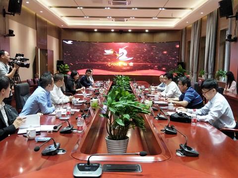 杨军接待科技部原党组成员、副部长张来武一行