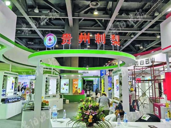 贵州刺梨亮相国际大健康博览会 20余家企业组团推介图片