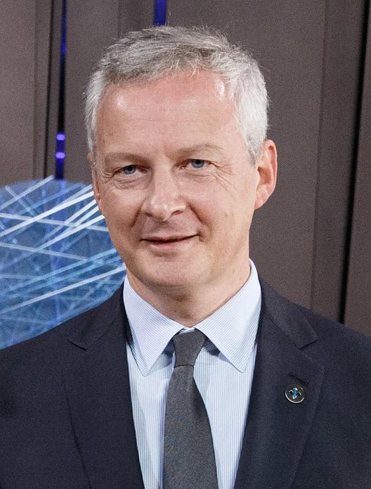 法国经济部长勒梅尔确认感染新冠肺炎