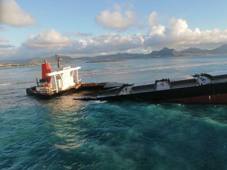 日本将派5人调查组赴毛里求斯调查货船漏油事故