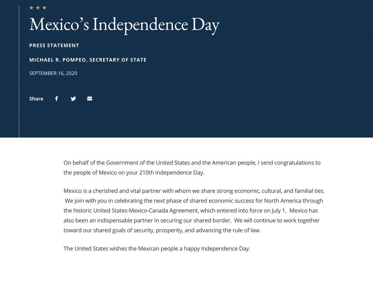 """特朗普独立日给墨西哥""""添堵"""":再不管制毒品制裁你!"""