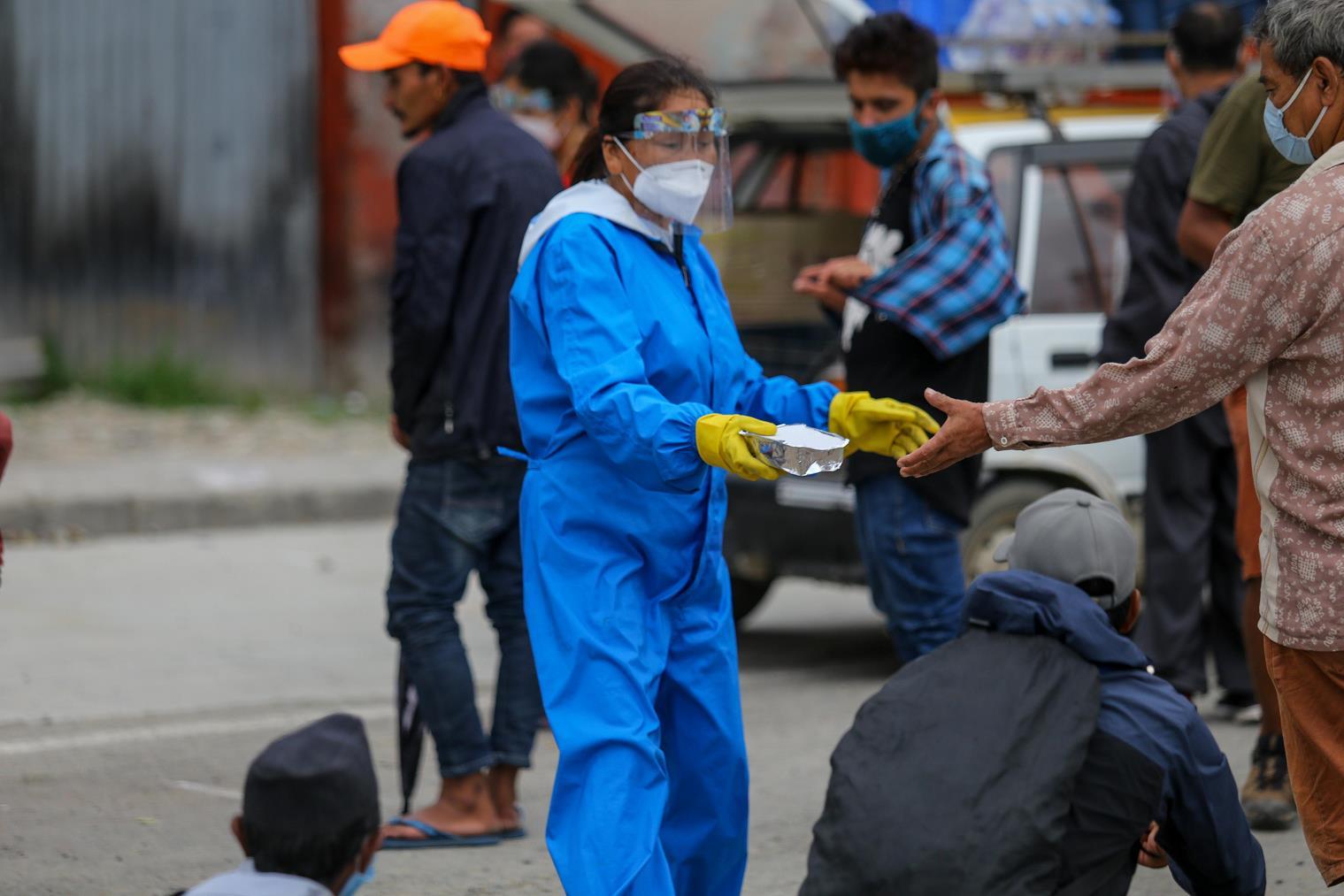 尼泊尔新增1120例新冠肺炎确诊病例 累计确诊41649例