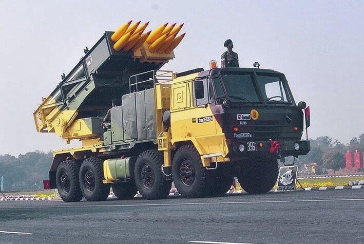 印度采购多管火箭发射系统 将部署在北部和东部边境