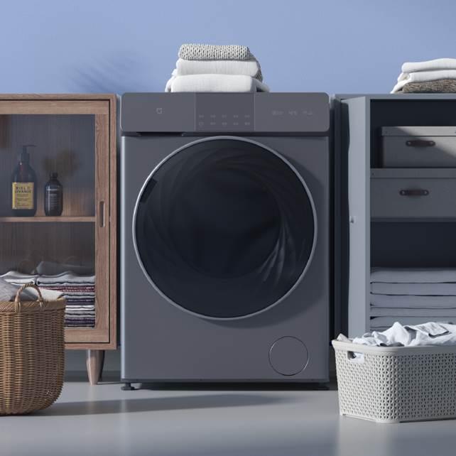 小米首款直驱电机洗衣机,米家互联网直驱洗烘一体机 10kg发布