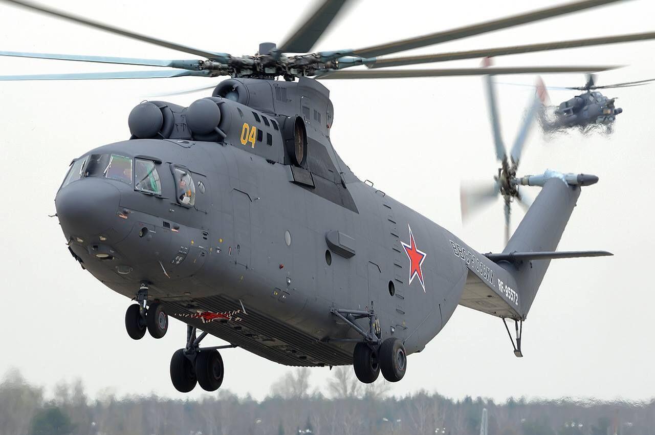 俄媒:俄中今年将签署联合研制重型直升机协议