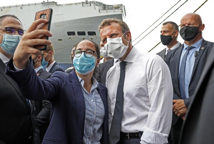 马克龙再访问黎巴嫩 民众表不满:他像是来旅游的