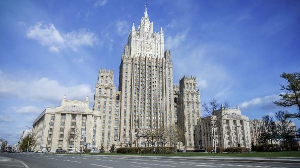 俄外交部(图源:俄新社)