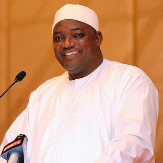 冈比亚总统巴罗表示2021年仍将举行总统选举