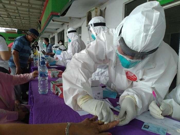 印尼新增3989例新冠肺炎确诊病例 累计确诊244676例