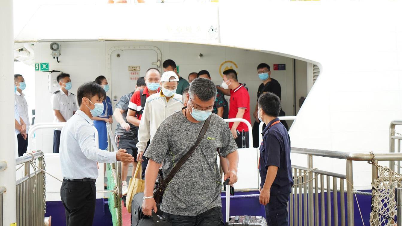 澳门至深圳蛇口航线21日起增至每日8班船图片