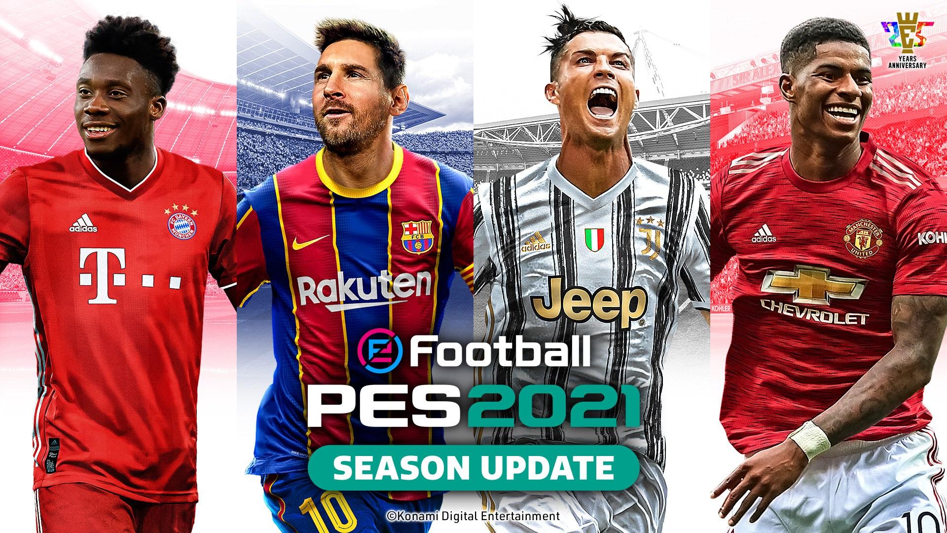 《实况足球2021》IGN 7分:真换皮 更新少 但很诚实
