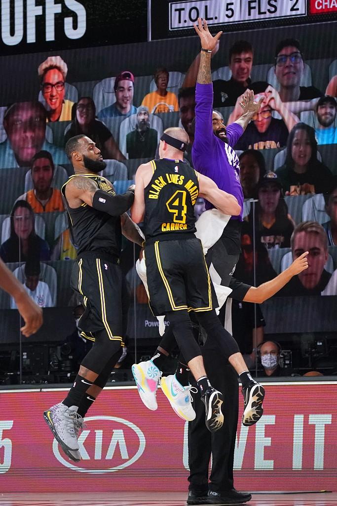 詹姆斯谈卡鲁索:高水准的比赛需要高篮球智商的球员