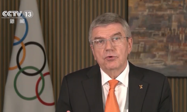 国际奥委会主席巴赫:北京冬奥会筹办工作令人鼓舞图片