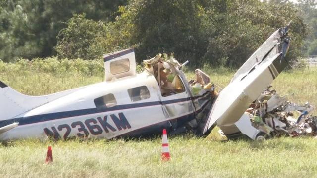 美国得州一架飞机因引擎故障坠毁,致4名乘客死亡