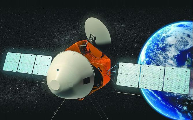 探月探火迎来新进展图片