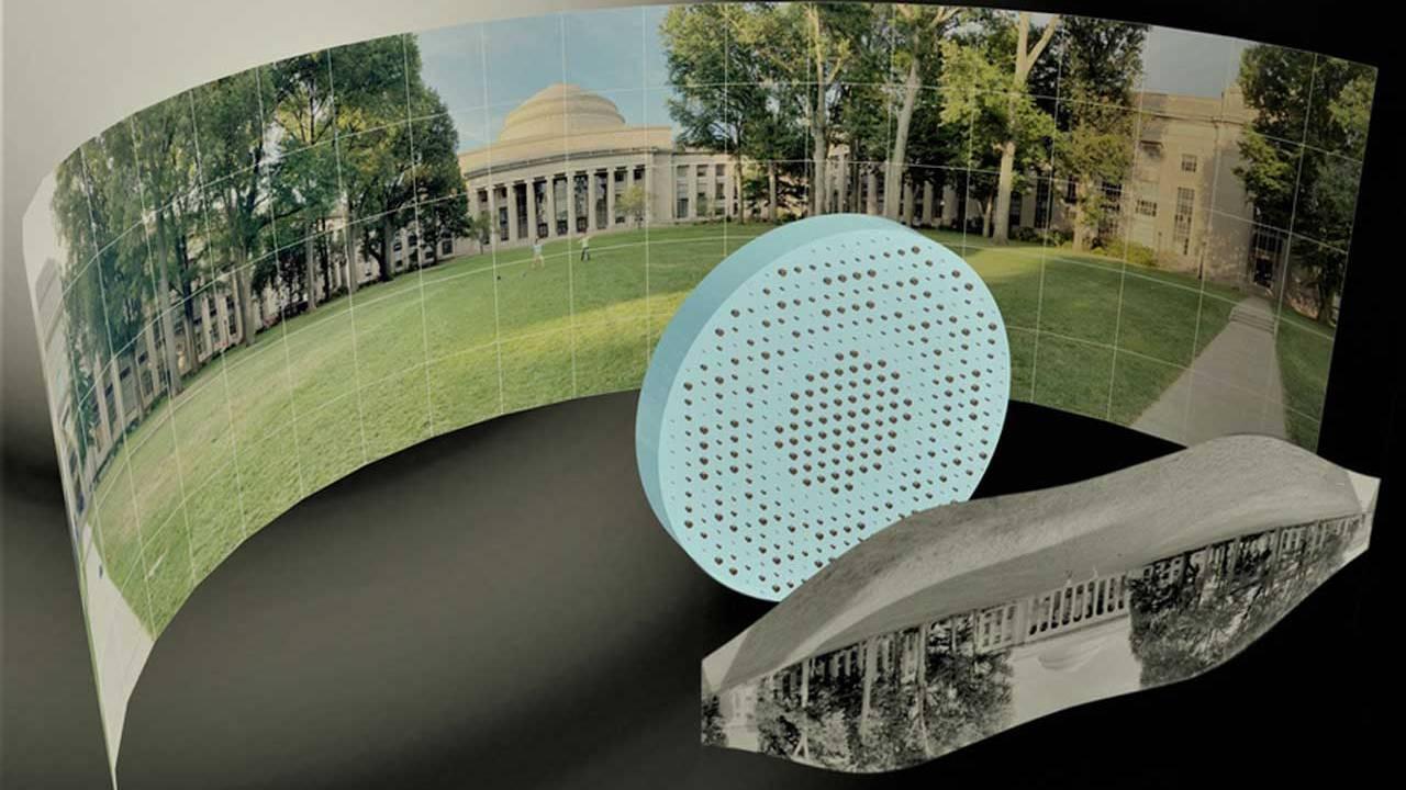 MIT工程师们制造出了完全平坦的鱼眼镜头