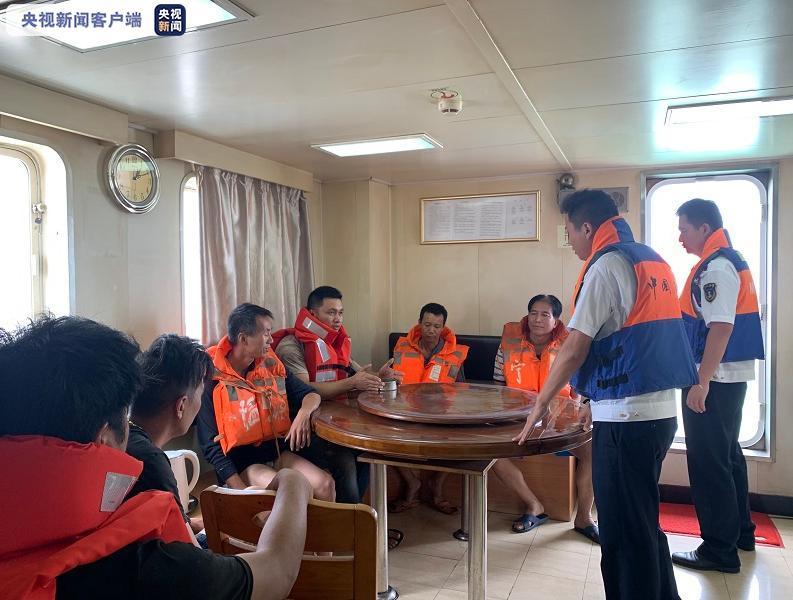 宁波象山沿海发生碰撞事故致一船沉没 海事部门紧急救助6名船员图片