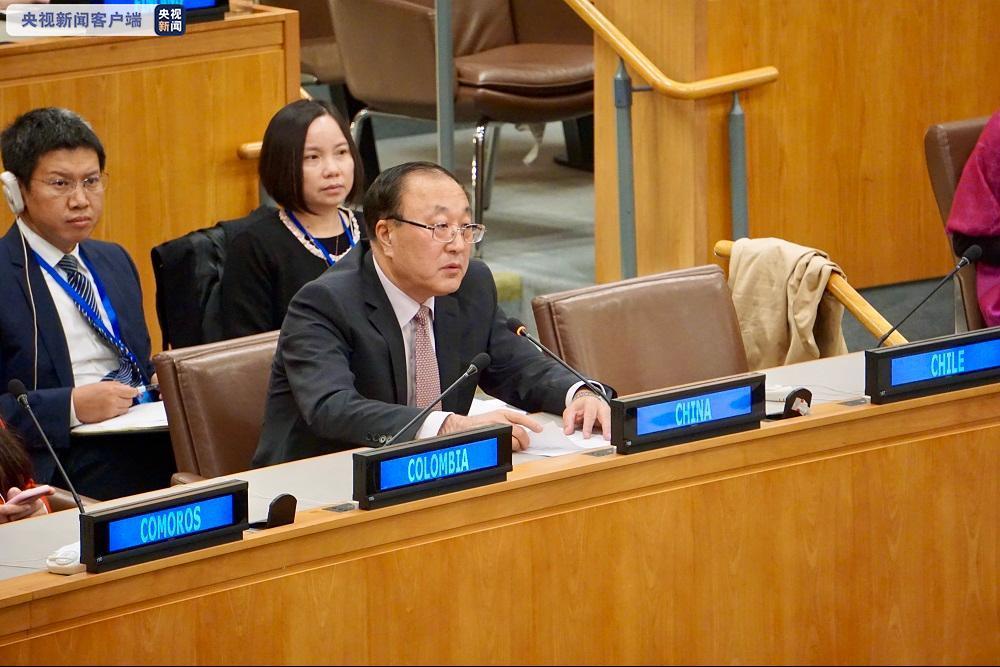 中国常驻联合国代表:美宣布安理会恢复对伊制裁非法无效图片