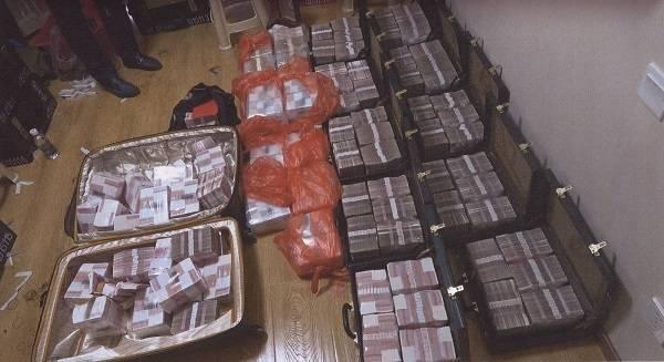 权力变现易,享受贿款难:近2千万藏于地下室不敢动图片