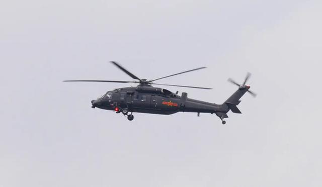 中国的直-20直升机