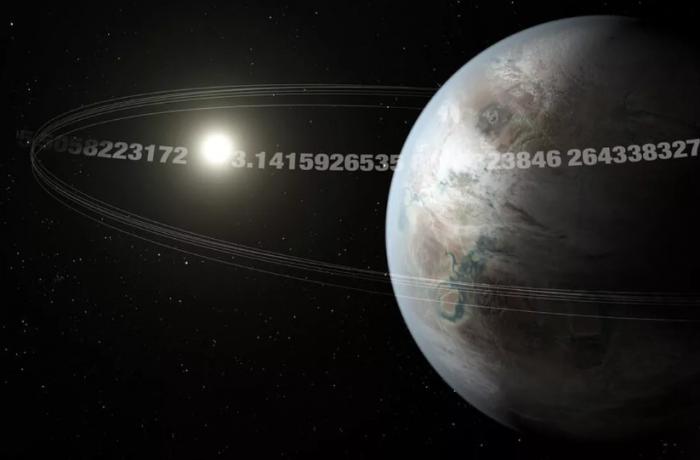 """科学家发现地球大小的""""圆周率行星"""" 每隔3.14天绕着恒星运行一周"""