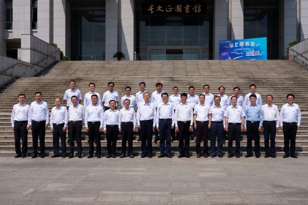 南京大学党政代表团来东南大学调研!图片