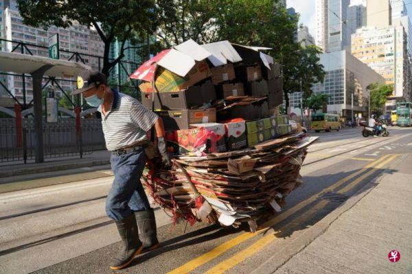 新媒:香港老龄人口已近两成 严重老龄化敲警钟图片