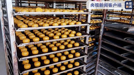 上海警方查获18万个假冒品牌月饼 抓获犯罪嫌疑人40余名图片
