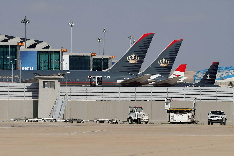 △约旦首都安曼的阿里亚皇后国际机场