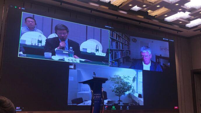 """上海与德国专家在线探讨""""面向全球面向未来的宜居城市"""""""