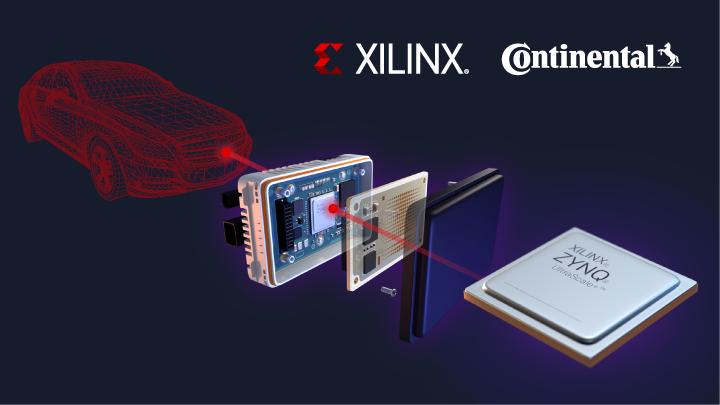 Xilinx 与大陆集团联合打造汽车行业首款量产版自动驾驶 4D 成像雷达