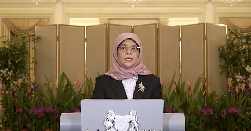 新加坡总统:政府投资机构已采取措施以减缓疫情冲击