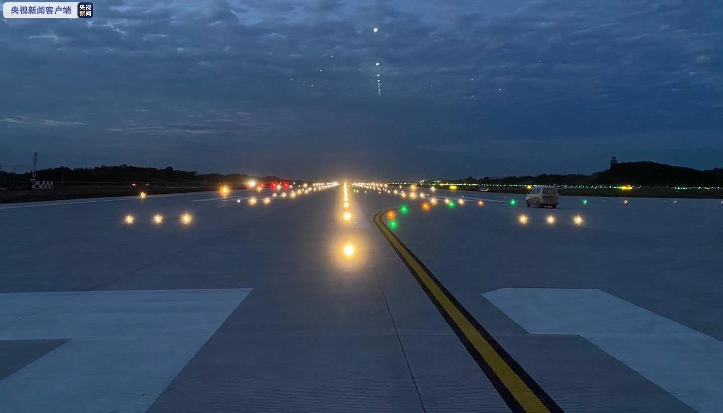 四川成都天府国际机场主跑道竣工 创多个