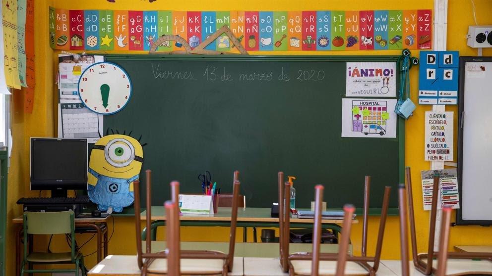 新学年以来 西班牙已有近2800个班级因出现新冠病例被隔离