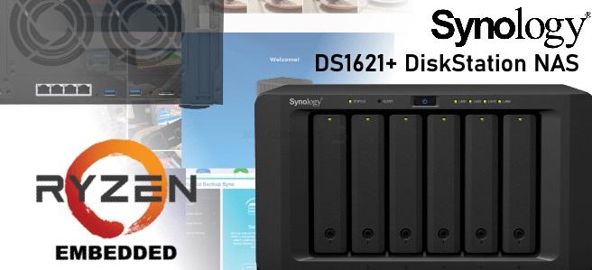 7200 元,群晖推出 DS1621+ NAS:搭载 AMD 锐龙处理器