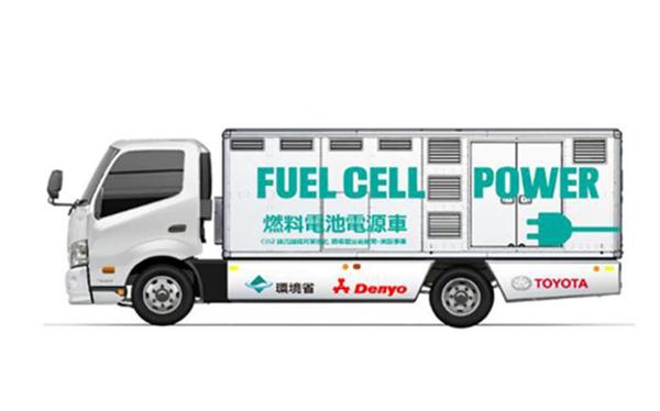 27个储氢罐带63Kg氢气!丰田推氢燃料发电车:可连续发电72小时