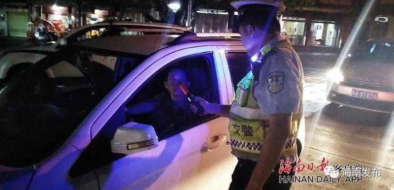 注意啦!这三天海南异地用警,严查这些道路交通违法行为→图片