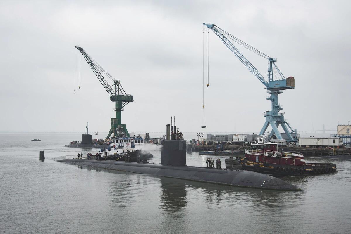 什么效率?美军核潜艇在船厂躺了5年后才开始大修