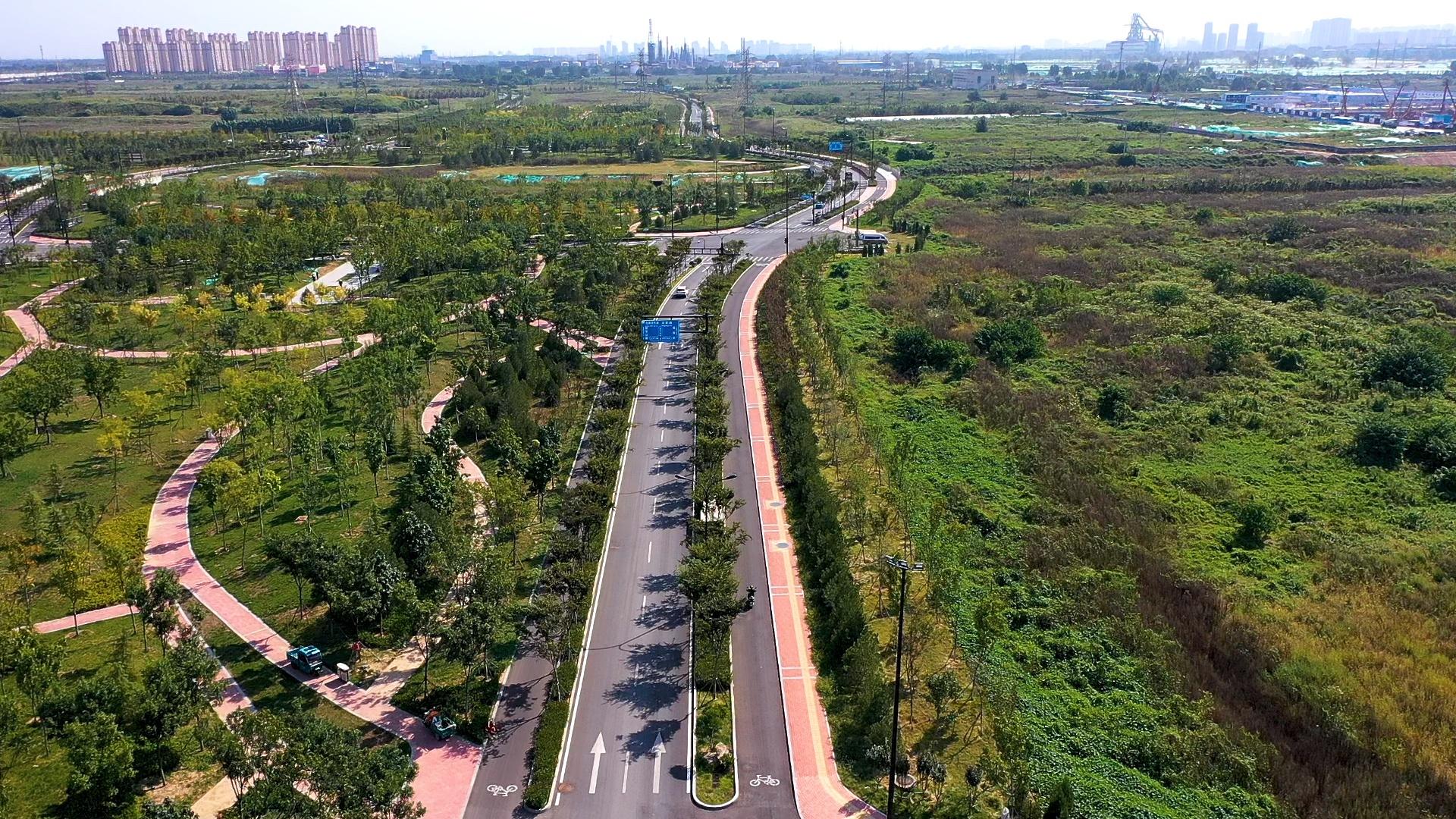 山东省规模最大的综合管廊项目全部完工图片