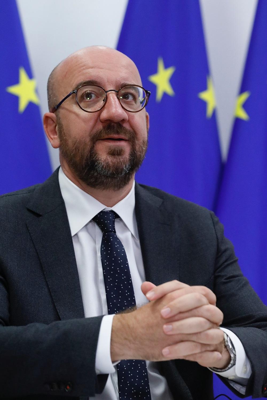 两次新冠病毒检测呈阴性 欧洲理事会主席结束自我隔离