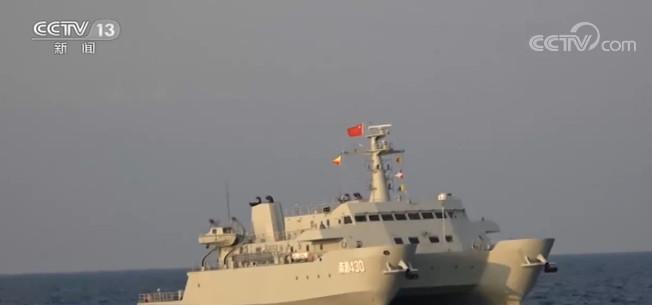 海军:实兵实装 锤炼海上测量尖兵图片