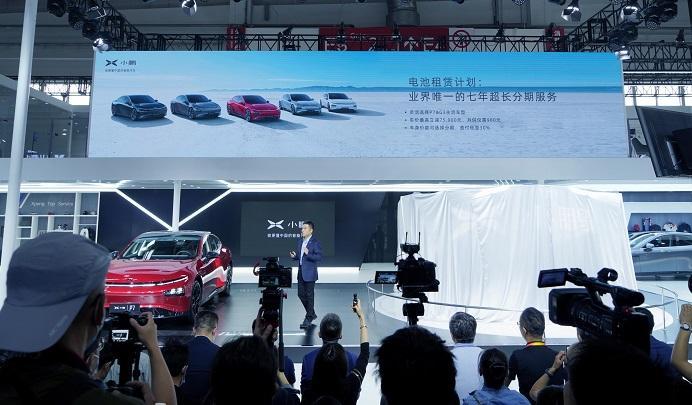 小鹏汽车发布超充免费加电及电池租赁计划,投资空中出行
