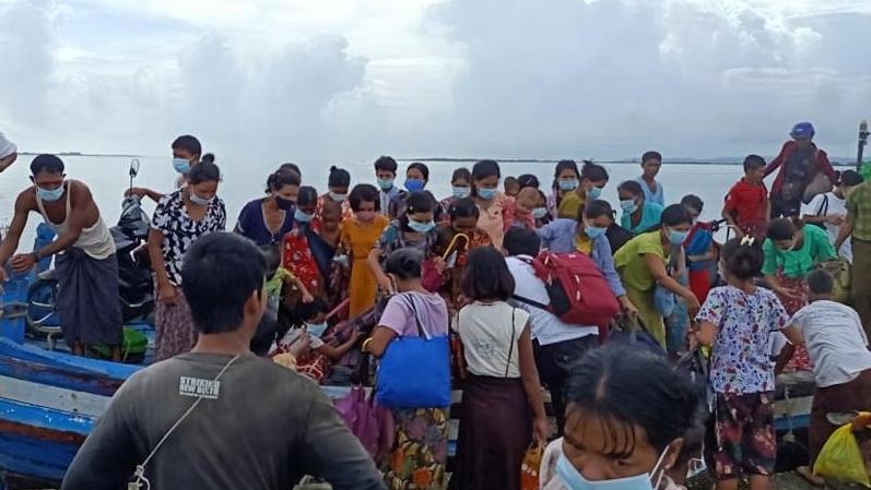 缅甸若开邦继续抵触 一位十岁儿童受伤