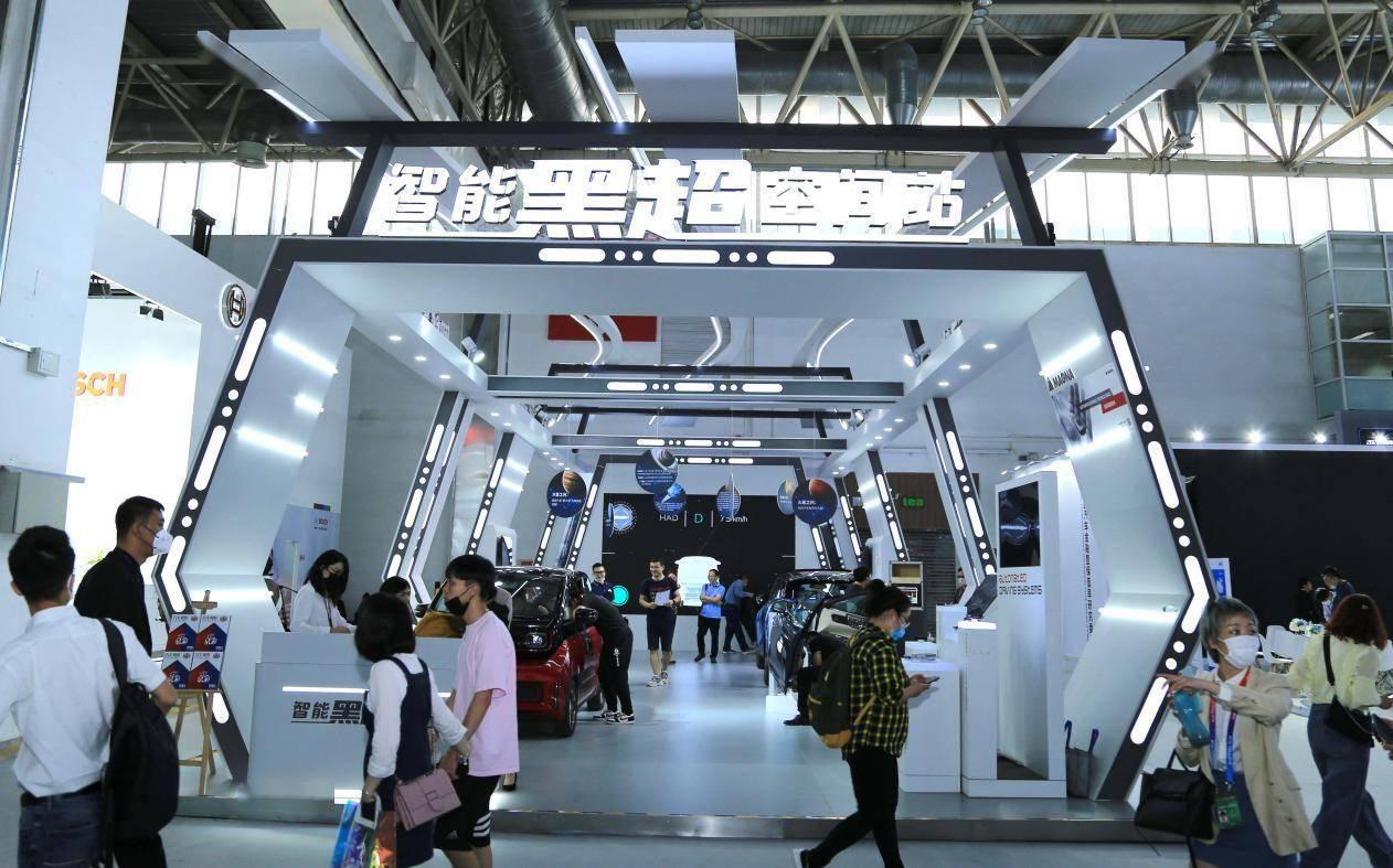 """""""智能黑超空间站""""一站式科技体验项目着陆北京车展"""