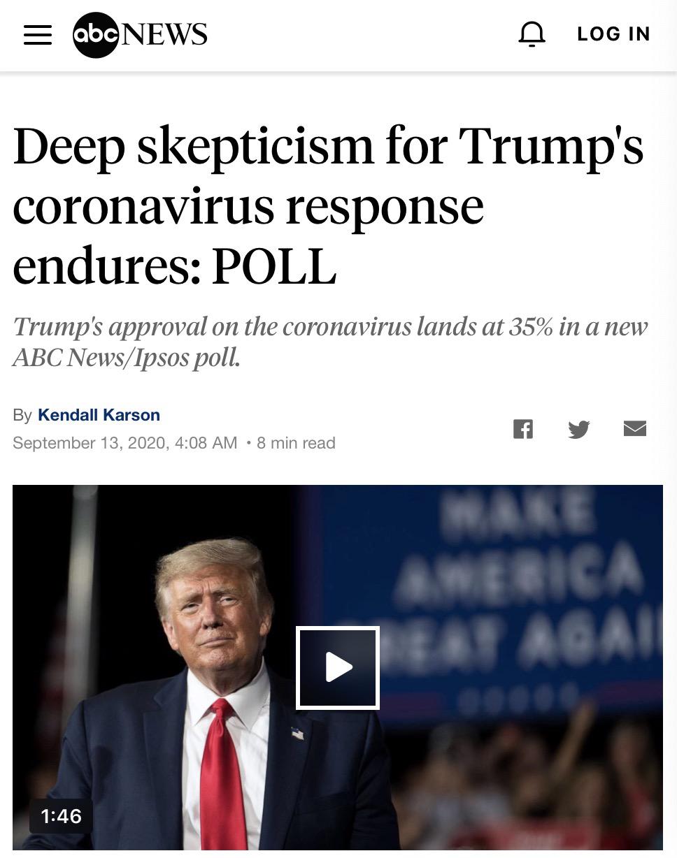 大选直击:疫情应对+经济复苏,特朗普要翻两座大山
