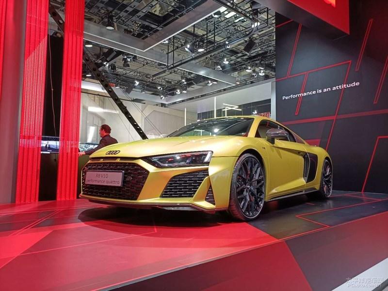 2020北京车展:奥迪新款R8正式亮相