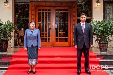 疫情以来首次 中联部与老挝、菲律宾重启线下政党外交图片
