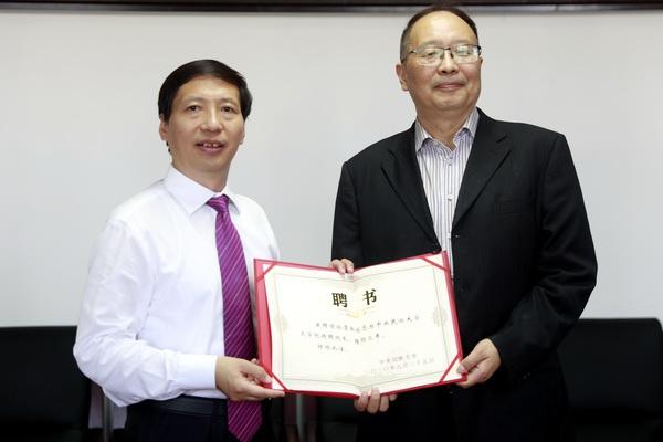 孙霄兵受聘中央民族大学文学院特聘院长,曾起草多部教育法规