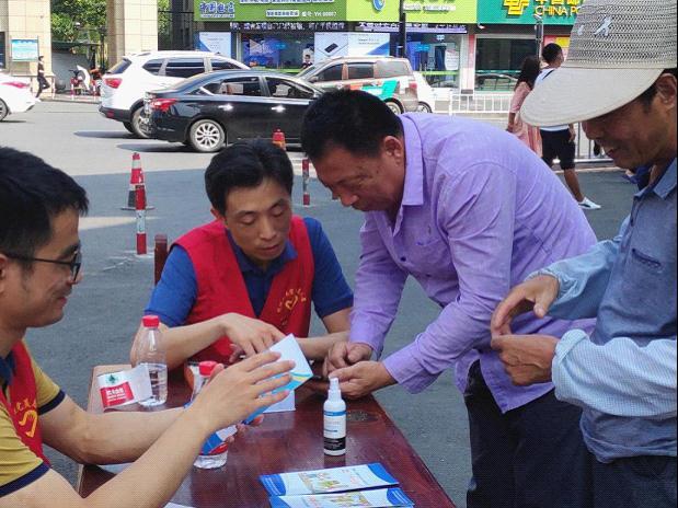 """浙江杭州:开展""""网络安全进社区""""志愿服务活动"""