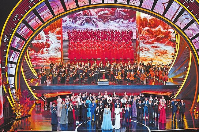 中原星光 照亮梦想 2020年中国金鸡百花电影节(第35届大众电影百花奖)闭幕图片